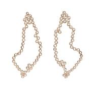 Lito, Hive Stalactites Earrings with Diamonds