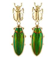 Lito Scarab Beetles Earrings