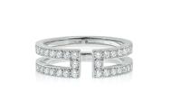 Ariane ring with diamonds