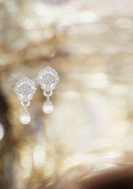 Lion Pépite Perles earrrings