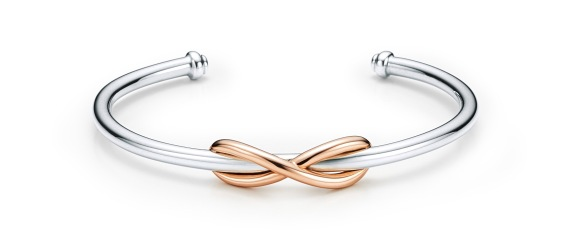 Bracelet-Tiffany-Infinity-en-or-rose